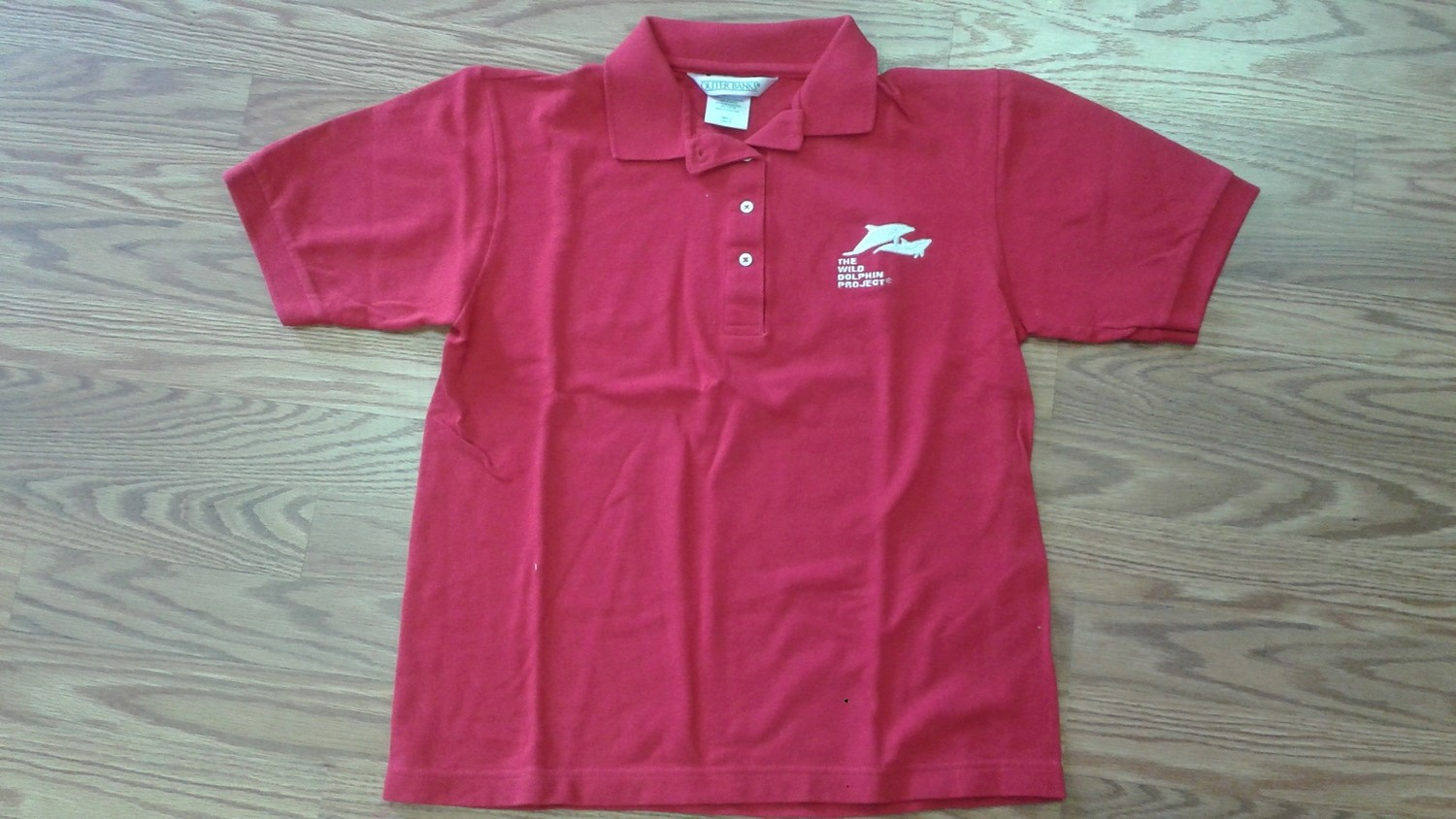 Polo - Red Collared Shirt