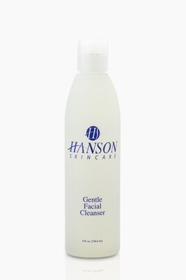 Gentle Facial Cleanser, 8oz