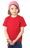 Embroidered Childrens Tee Shirt