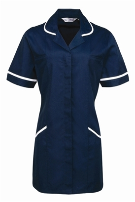 Ladies Healthcare Tunic Rounded Collar