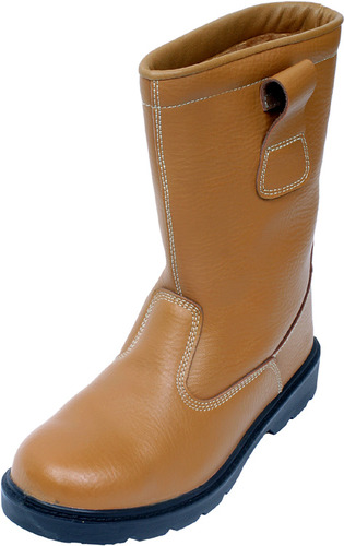 Safety Rigger Work Boots with steel in-sole and Fleece Lined