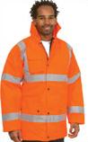 Embroidered Hi-Vis Safety Jacket
