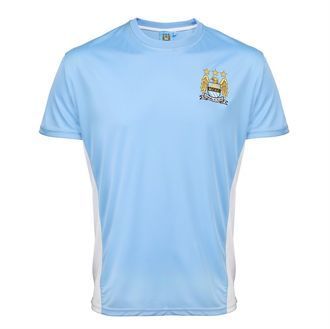 Manchester City FC Adults Performance T-shirt