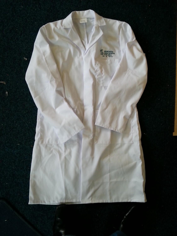 Embroidered Unisex Lab Coat