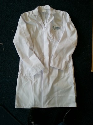 Embroidered Unisex Lab Coat
