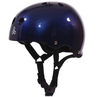 Универсальный шлем Triple Eight Brainsaver Glossy Helmet with Standart Liner