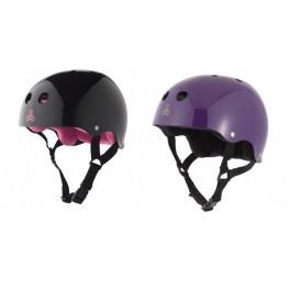 Универсальный шлем Triple Eight Brainsaver Glossy Sweatsaver Helmet