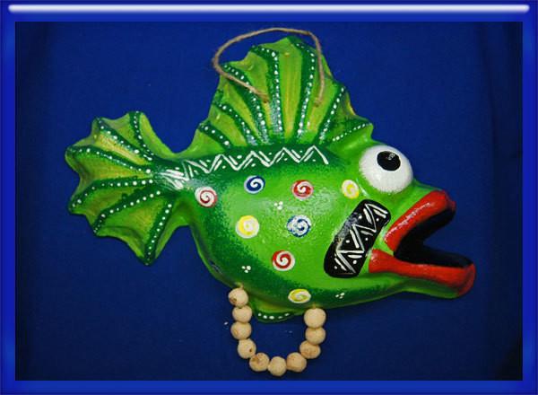 Панно-рыба