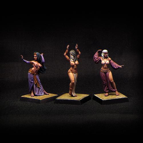Arabian Dancers (3 pcs)
