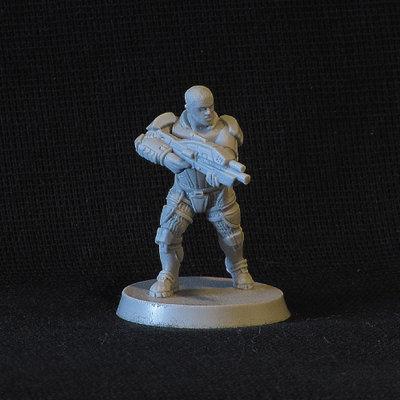 Light-armoured Trooper