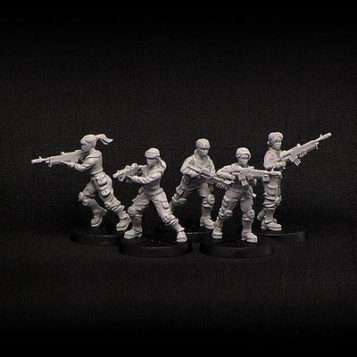 Female Troopers
