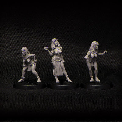 Egyptian Vampires (3 pcs)