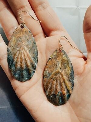 Calypso Patina Earring