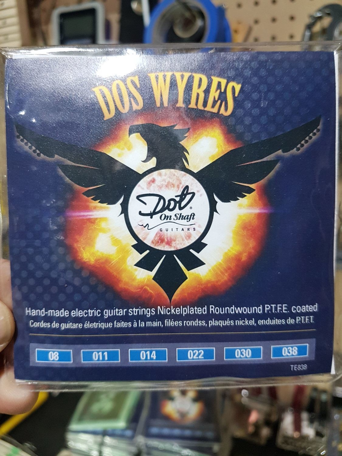 """7 Packs Bulk """"Dos Wyres"""" Nickel Plated  PTFE Coated 8-38 Electric HandWounds"""