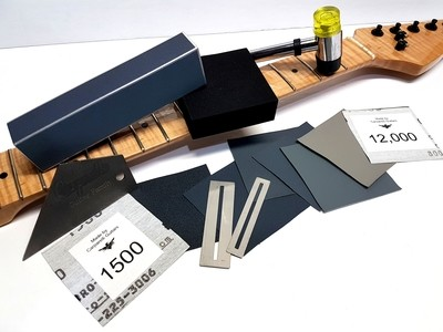 Micro Mesh 9X Plus Weekend Warrior Fret and Finishing Kit