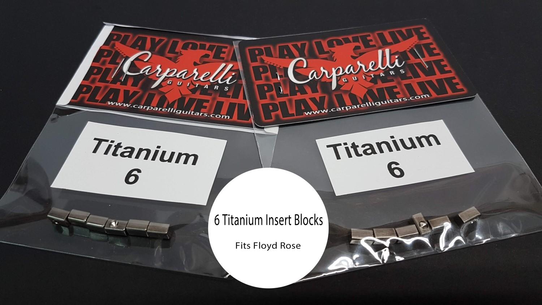 Titanium Alloy String Lock Insert Blocks