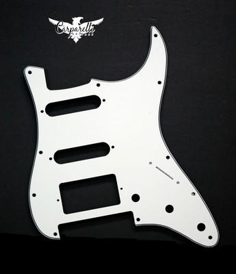 Brio HSS Floyd Rose Cut for Fender Strat 3 Ply Parchment