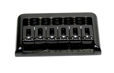 Brio 6 String Guitar Bridge Black