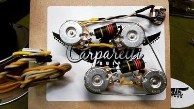 Carparelli 5A Emerson Pre-Wired Les Paul Harness