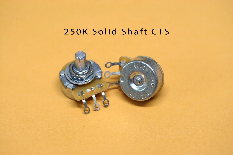 CTS 250K Vintage-style Solid Audio Pot