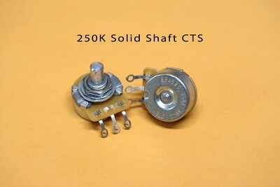 CTS 250K Vintage-style Solid Audio Pot