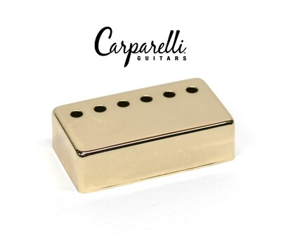1 x Carparelli Metal Humbucker Cover 52mm Gold