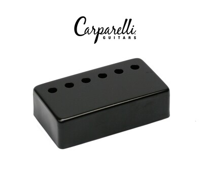1 Carparelli Metal Humbucker Cover 50mm Black