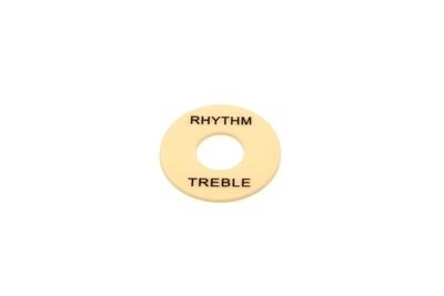 Plastic Rhythm/Treble Ring - Cream