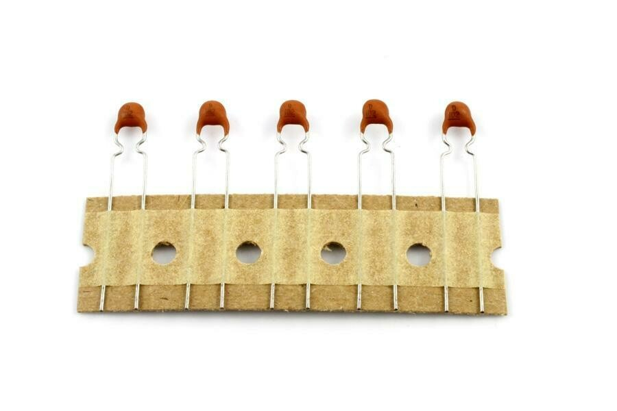 .001 MFD Ceramic Disc Capacitors pack of 5