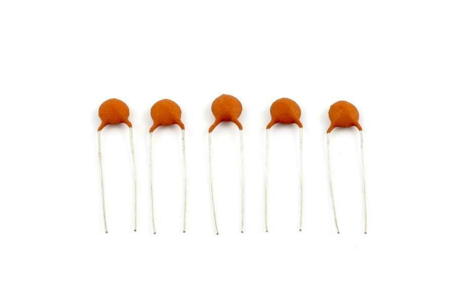 .005 MFD Ceramic Disc Capacitors pack of 5