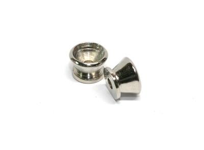 Brio Guitar Metal Small Strap Buttons, Chrome