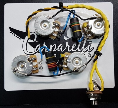 Carparelli Les Paul® 50's Wiring Lite