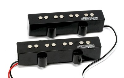 Wilkinson Variable Gauss Ceramic Traditional Jazz Bass Pickups Set for JB Style Electric Bass