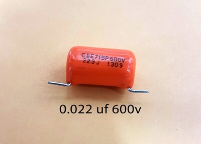 Sprague .022 MFD 600V Orange Drop Capacitors
