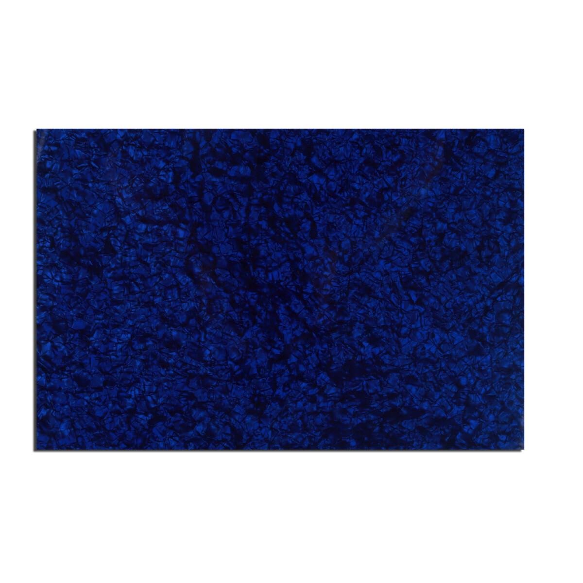 "Brio Pickguard Blanks 12"" x 17"" 4 Ply Pearloid Blue"