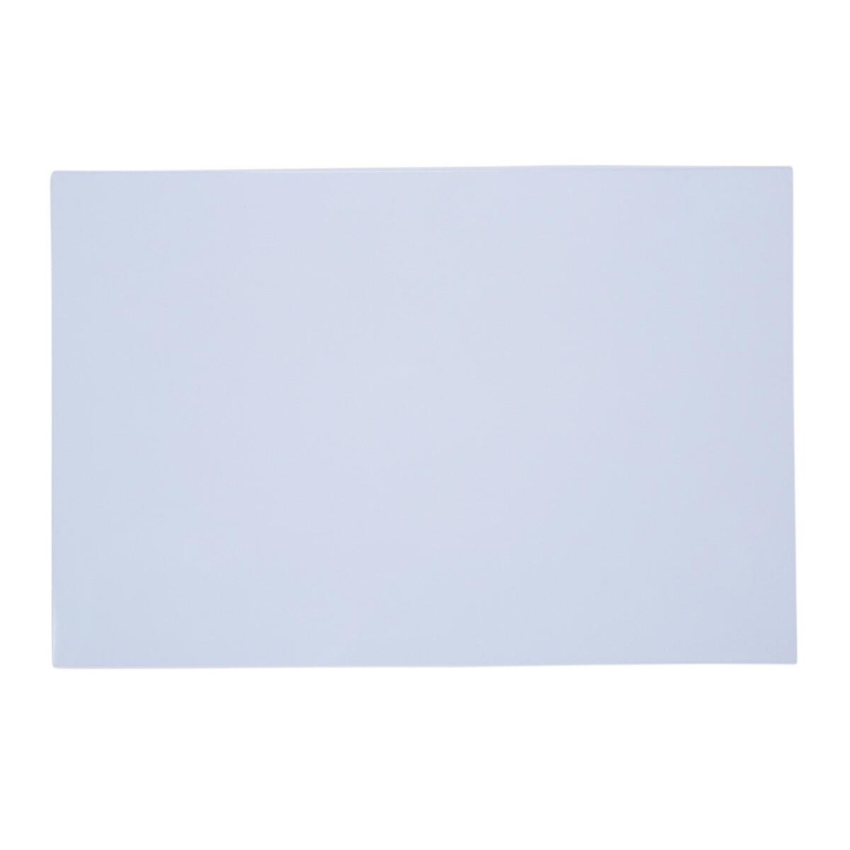 "Brio Pickguard Blanks 12"" x 17"" 3 Ply White"