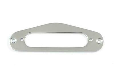 Brio Metal pickup mounting ring for Tele® neck pickup. Chrome,Black,Gold