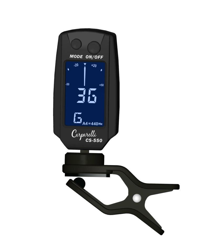 Carparelli Digital Clip On Tuner