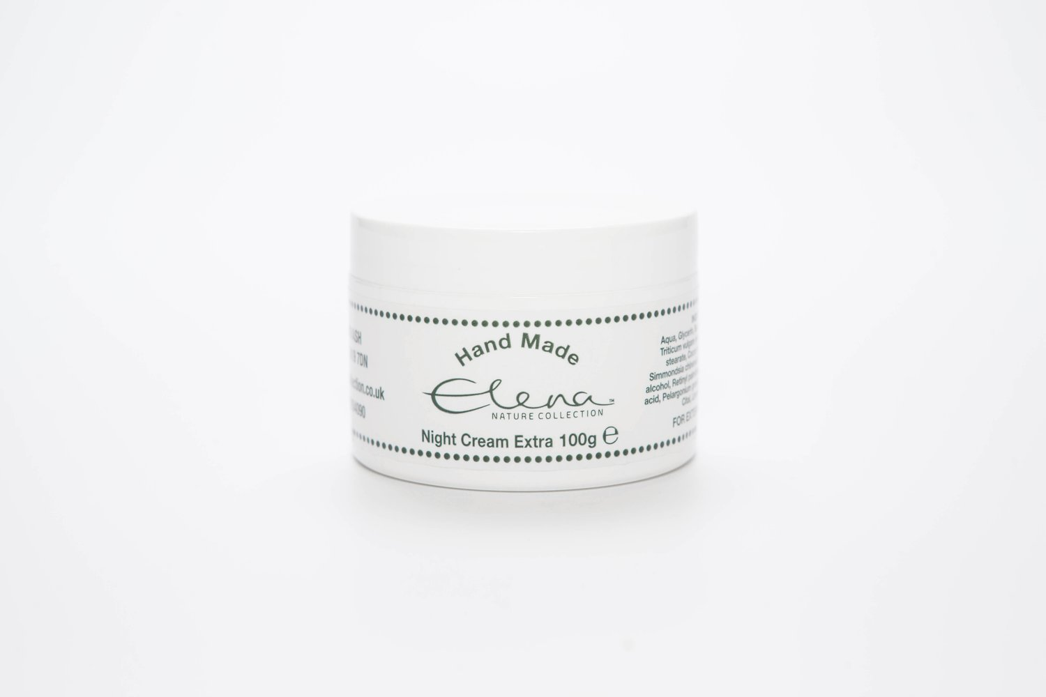 Night Cream Extra with calming geranium 100g