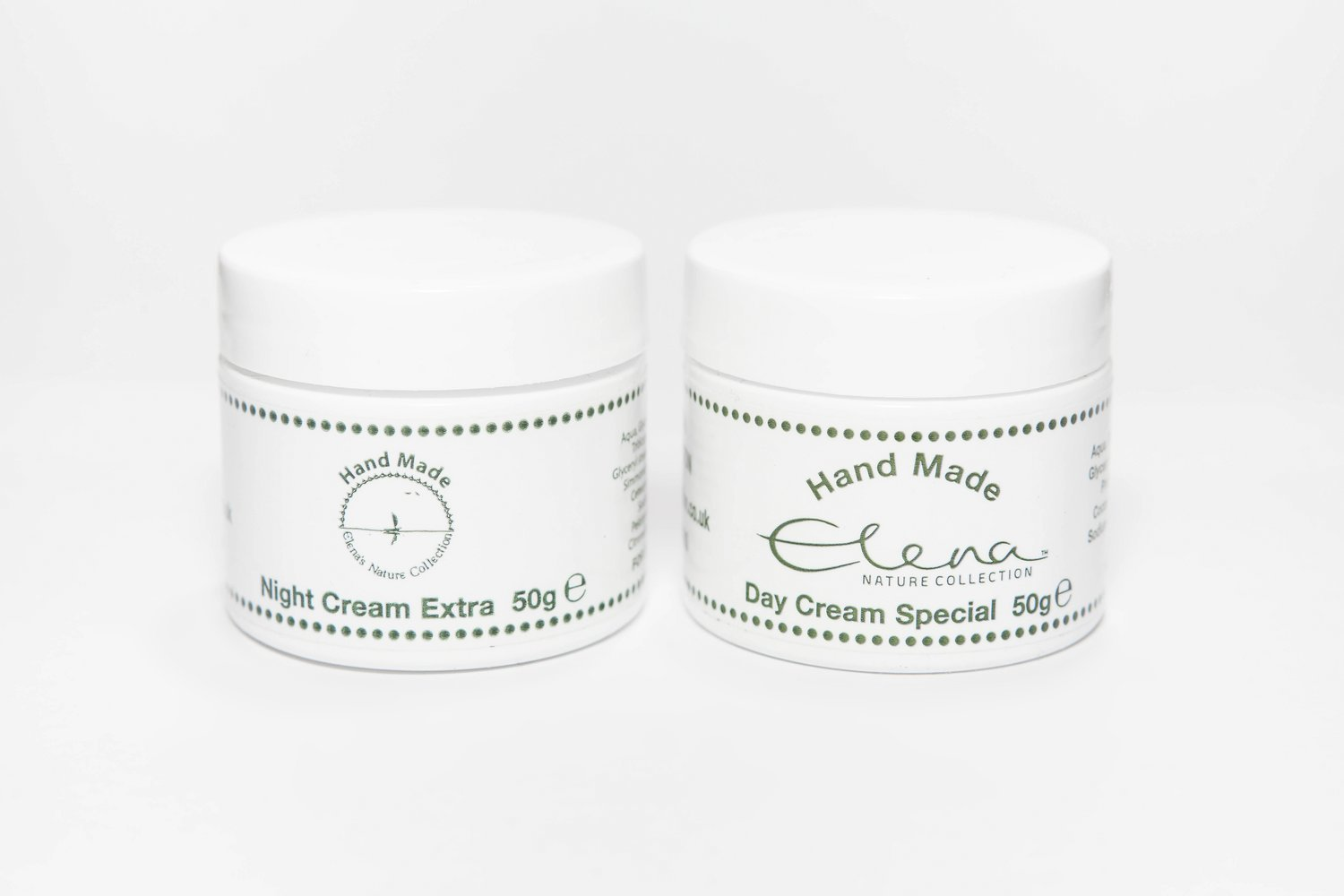 Day Cream Special and Night Cream Extra 50g of each