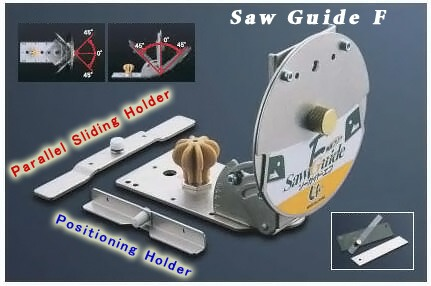 Free-angle saw guide package