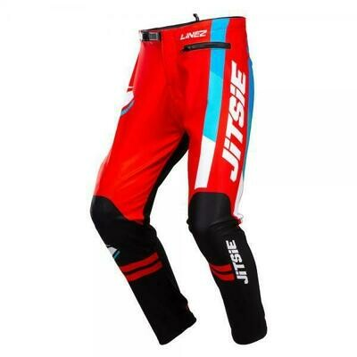 New* Jitsie L3 Lines Pants Black/Red/Blue