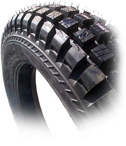 """Tire, Front, IRC - 2.75 x 21"""" (Tubeless TR11 Competition)"""