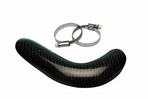 Carbon Fiber Exhaust Guard - Gas Gas