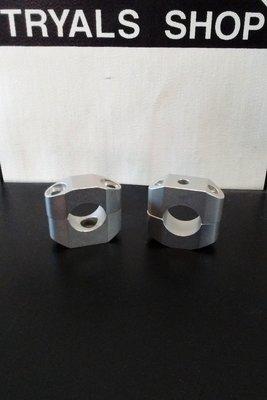 Handlebar Clamp Set- Aluminum