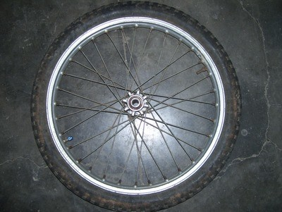Beta Rev/techno front wheel