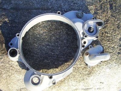 Beta Techno inner clutch cover and water pump cover