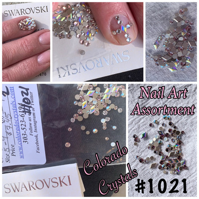 Nail Art Assortment Crystals