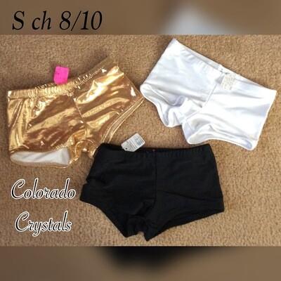 Kids Dance, Gymnastics, Cheer Shorts ChS 8/10