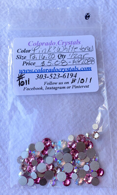 Pink & White Tones Variety Pack Of Crystals